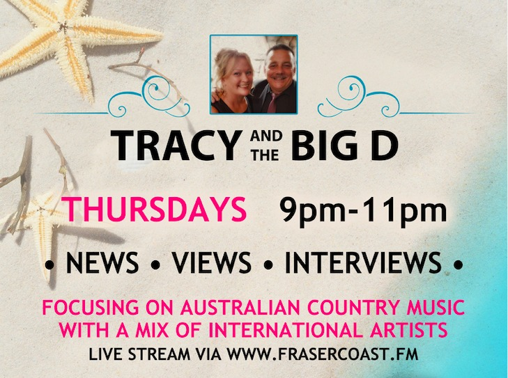 Tracy and The Big D Show with Tracy and Darryn Robinson on Fraser Coast Community Radio