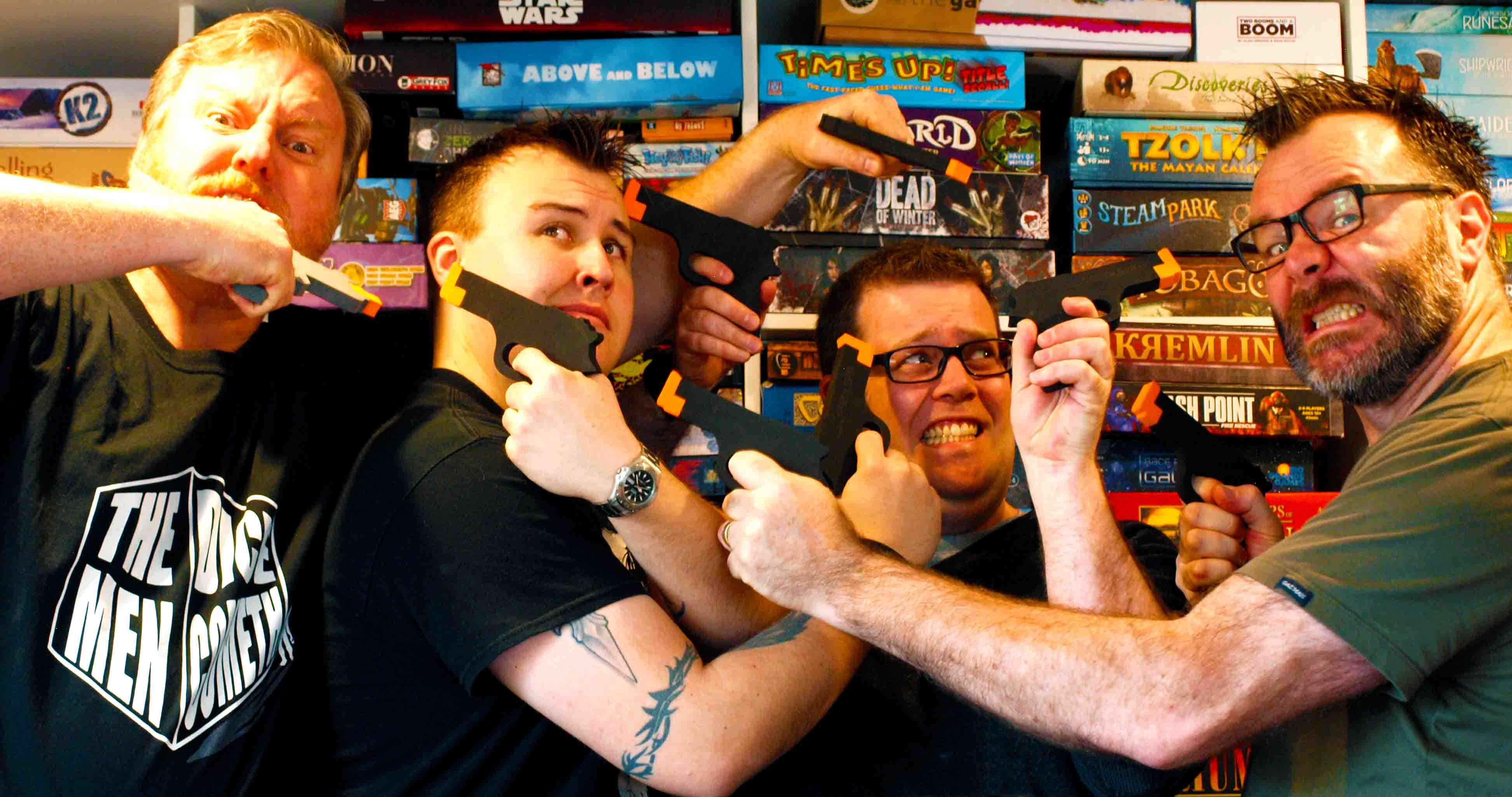 The Dice Men Cometh with Mark, Garth and Leon on Edge Radio 99.3FM
