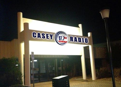 Lak Handa with Gamini Fonseka on Casey Radio