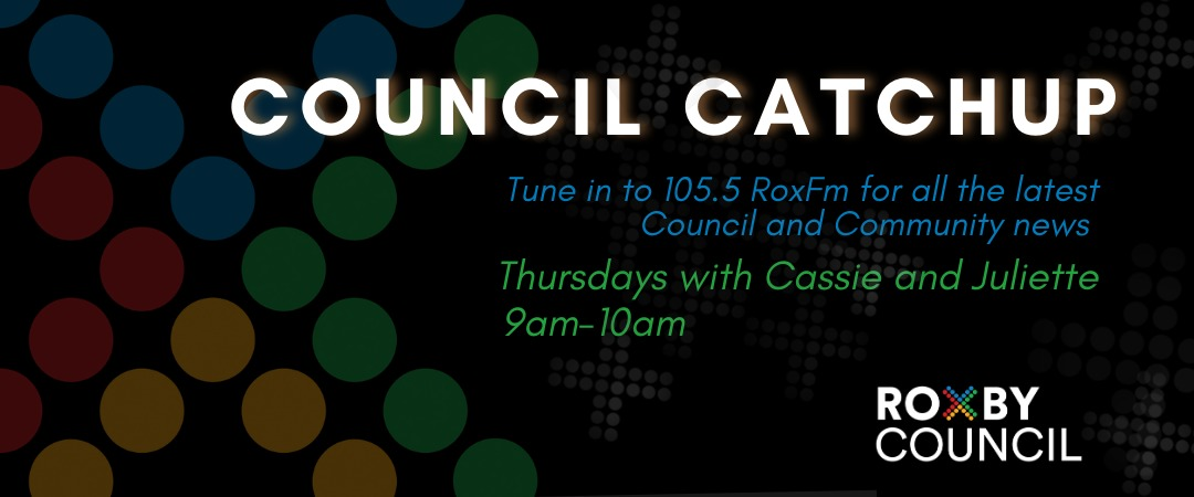 Council Catch-Up with Amanda  on RoxFM