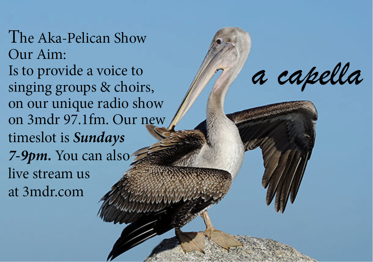 Aka-Pelican Show with  Rick Ricksteen on Mountain District Radio