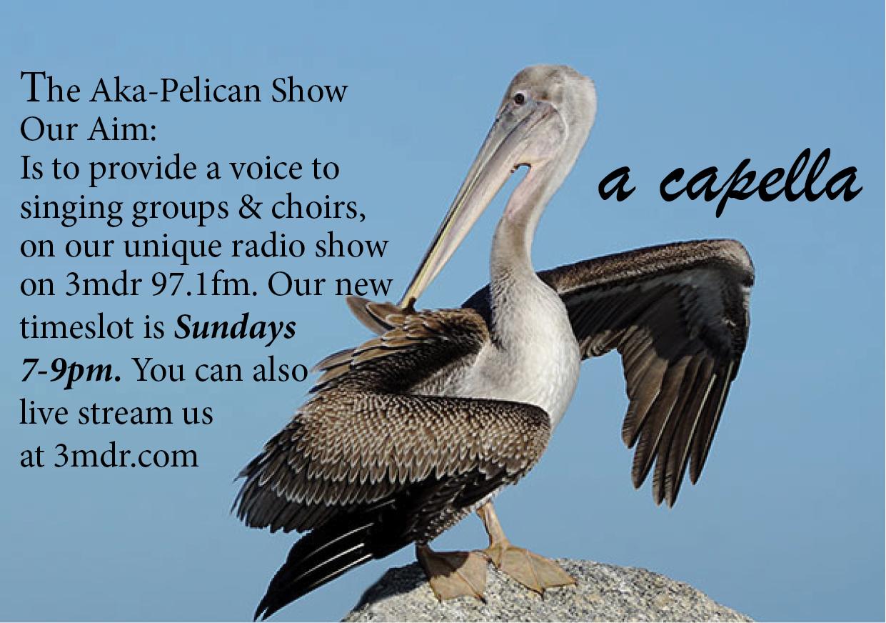 Aka-Pelican Show with  Rick Ricksteen on Mountain District Radio