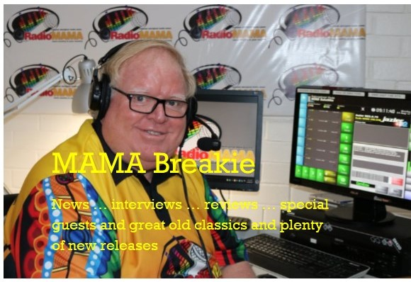 Mama's Brekkie Show with Barry Anderson on Radio MAMA