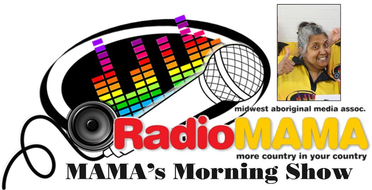 Mama's Morning Show with Dianne Gray on Radio MAMA