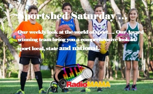 Sportshed Saturday with Peter Fiorenza & the Sports Team on Radio MAMA