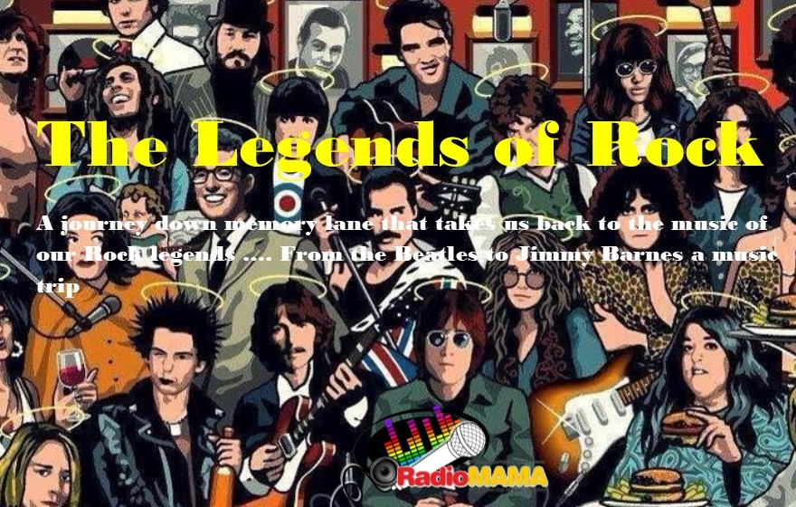 The Legends of Rock with MAMA Jukebox on Radio MAMA