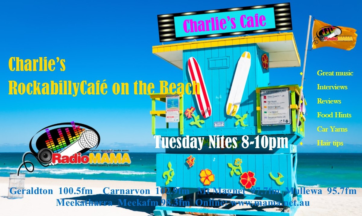 Charlie's Rockabilly Cafe with Eric E on Radio MAMA
