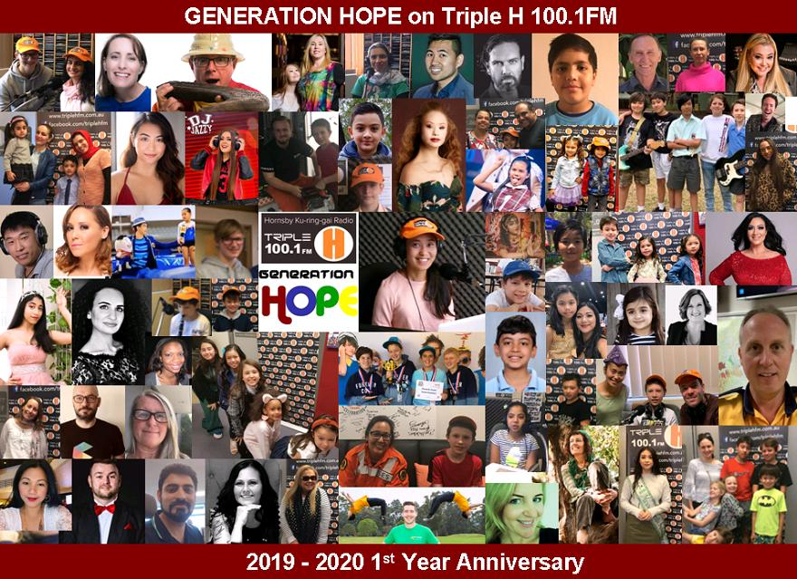 Generation Hope with Jinky Marsh on Triple H FM