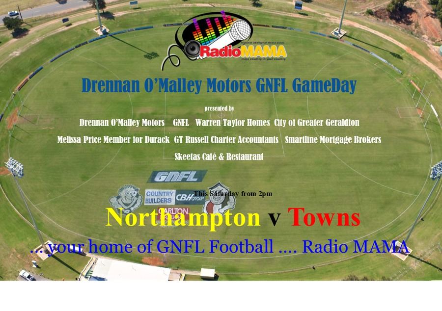 Drennan O'Malley GameDay with Radio MAMA Football on Radio MAMA