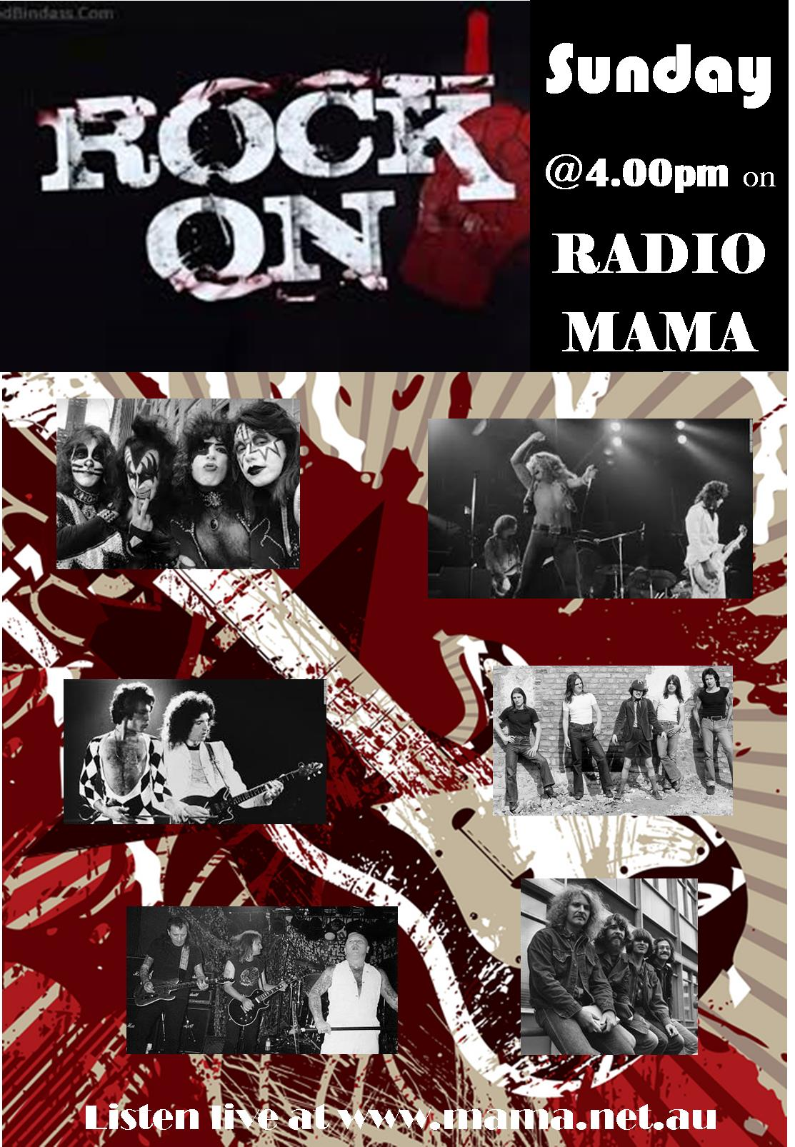 Rock On with Dianne Gray on Radio MAMA
