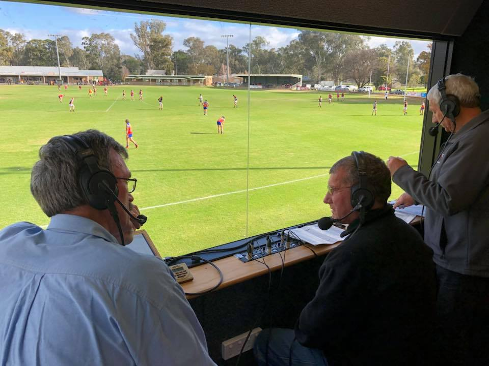 The Saturday Sports Cafe with Robert Rickard on Seymour FM