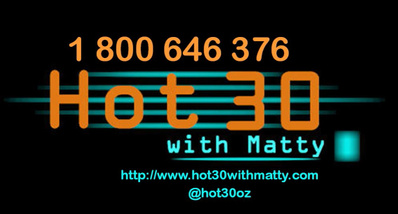 Hot 30 with Matty with Matty Boyd on Seymour FM