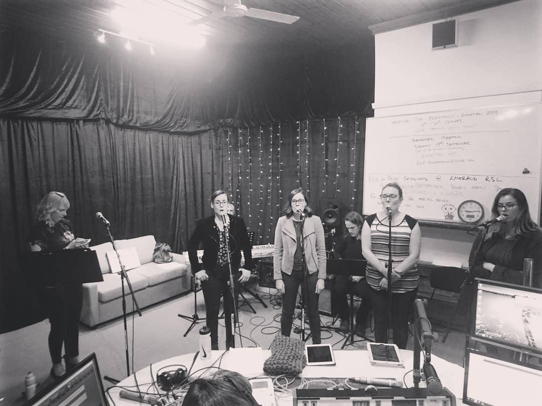 The Mae Collard Trio & The Velvetones Play Dotted Live on The Dotted Line with The Dotted Line Team