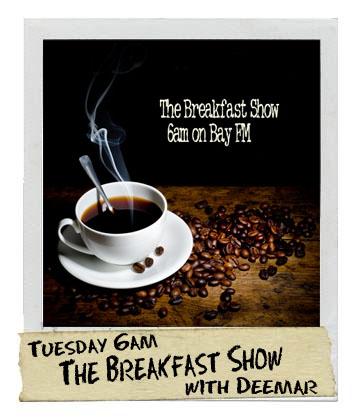 The Breakfast Show with Brett on Bay FM - 99.9FM