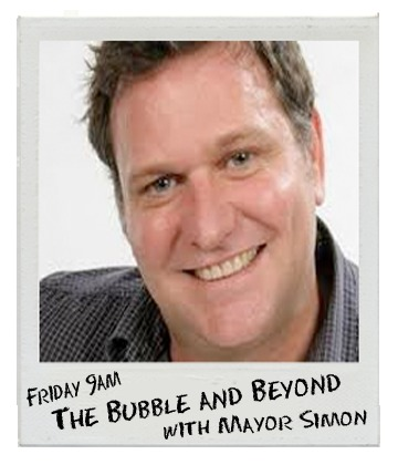 The Bubble and Beyond with Simon Richardson on Bay FM - 99.9FM