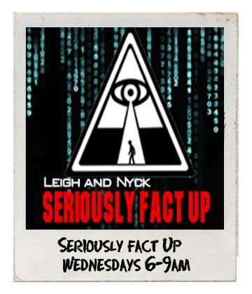 Seriously Fact Up with Nyck Jeanes and Leigh Chamberlain on Bay FM - 99.9FM