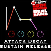 Attack Decay Sustain Release with George Finch and Simon Lovell on Edge Radio 99.3FM
