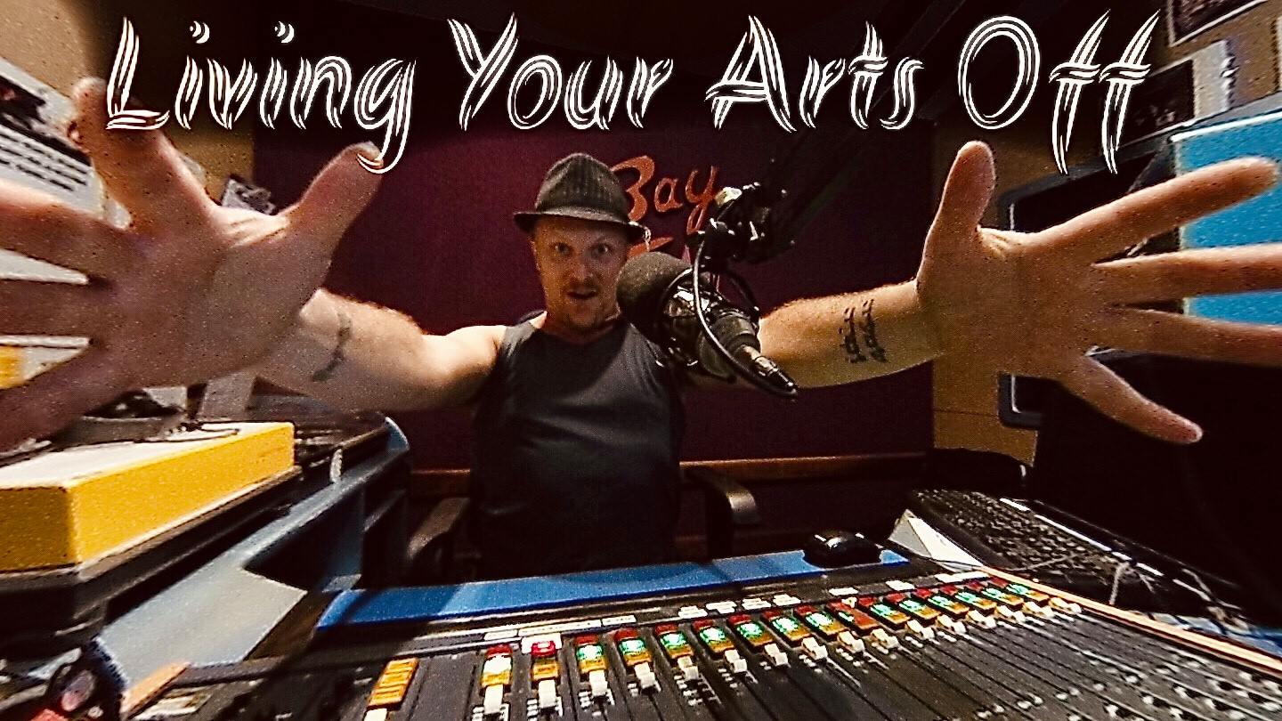 Living Your Arts Off with Nathan Kaye on Bay FM - 99.9FM